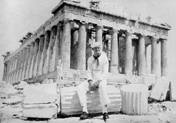 Gale Grodt at Partheon, Acropolis; Athens, Greece